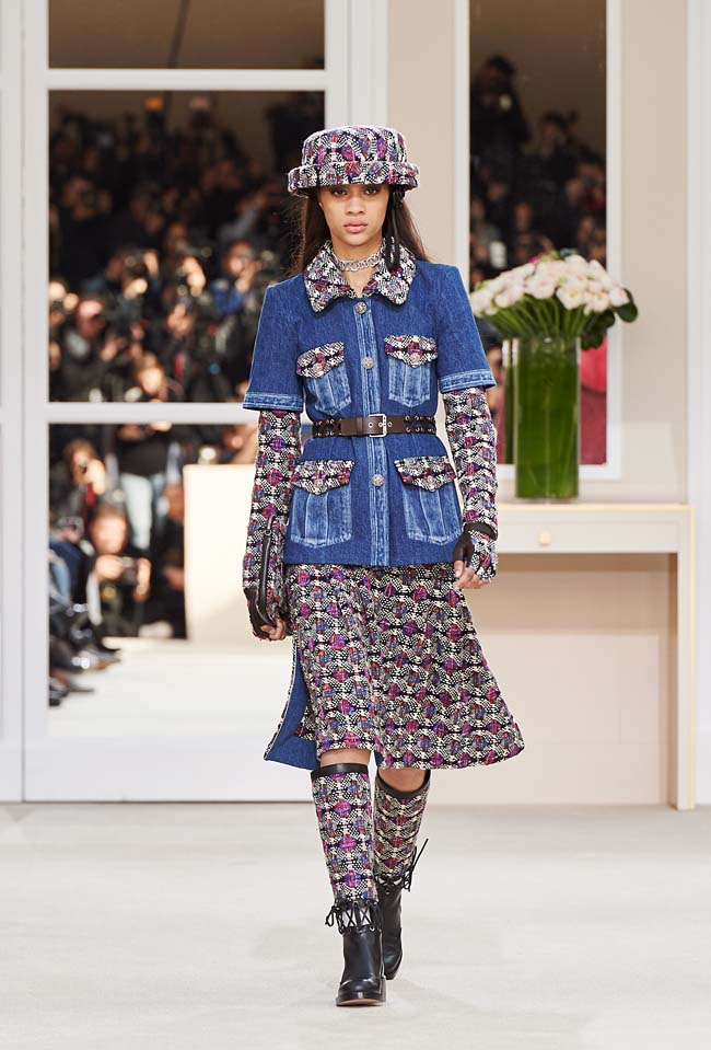 chanel-fall-winter-2016-collection-rtw-ready-to-wear-dresses (4)-fw-outfit-blue