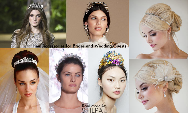 how-to-wear-hair-accessories-wedding-bridal-guests-dress-hairstyles-latest
