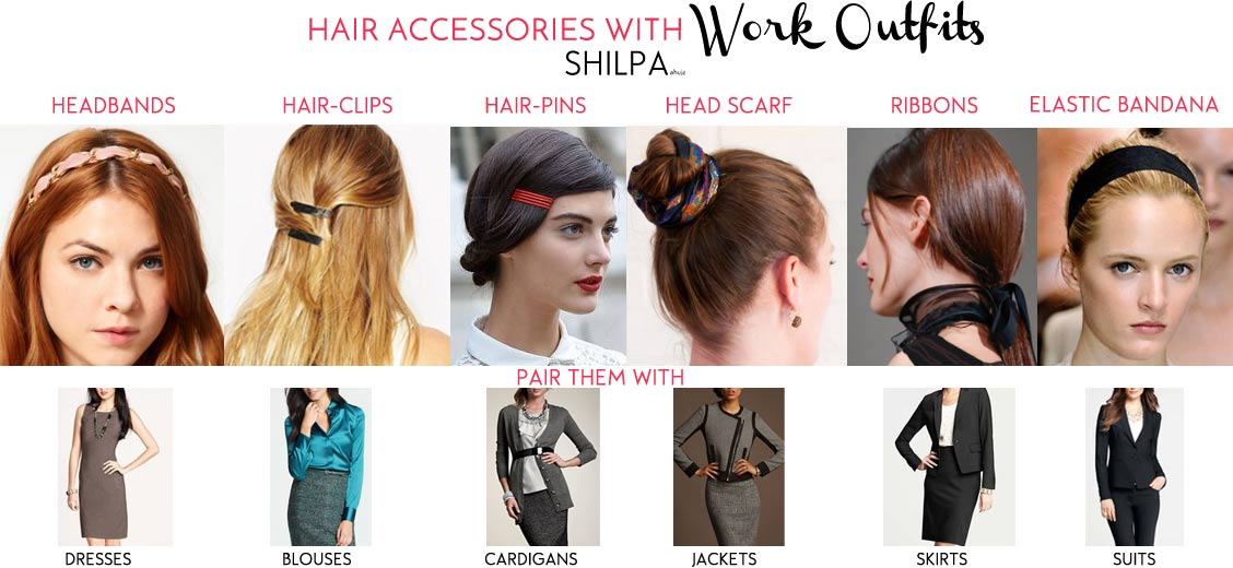 how-to-wear-hair-accessories-with-work-outfits-hairstyles-ideas-for-office-professional-attire-clothes