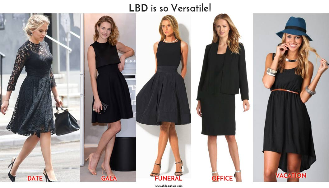 What to Wear with a Black Dress - 5 Casual LBD Outfit Ideas