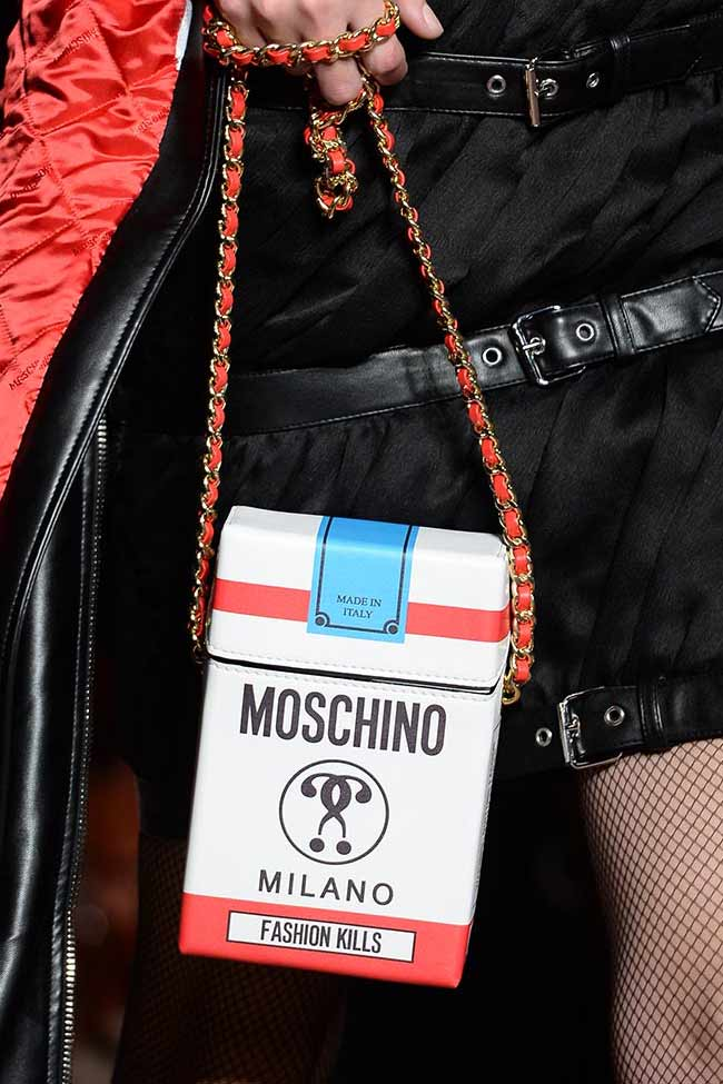 Moschino Accessories Beauty Looks Fall 2016 17 Show