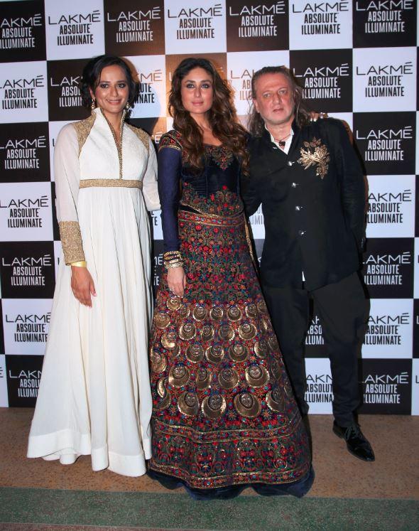2-Rohit Bal-Kareena Kapoor-Purnima Lamba-lakme-fashion-week-show-spring-summer-2016