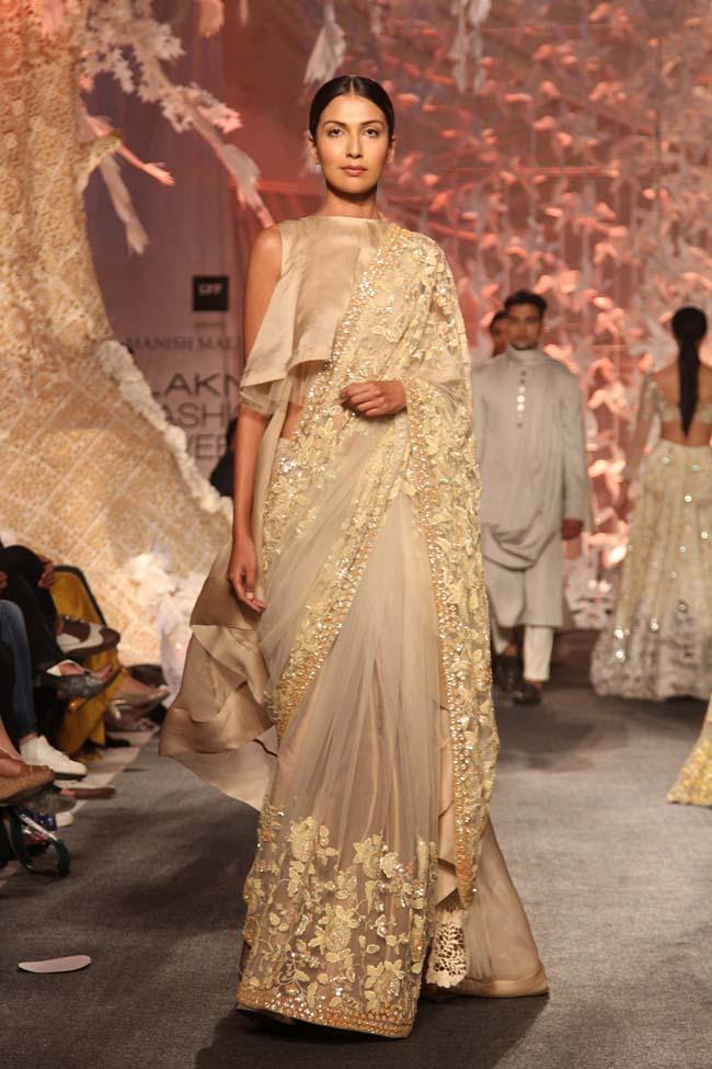 Manish-Malhotra-Spring-Summer-2016-saree-off-white-designer-collection