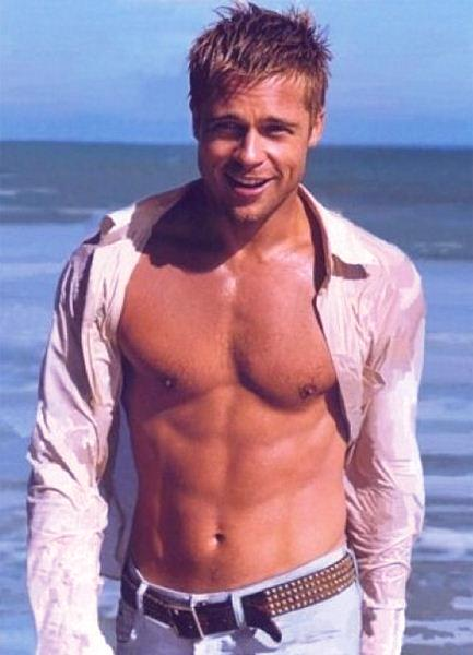 brad-pitt-best-hollyood-actor-six-pack-6pack-topless-hot-male-freshblue