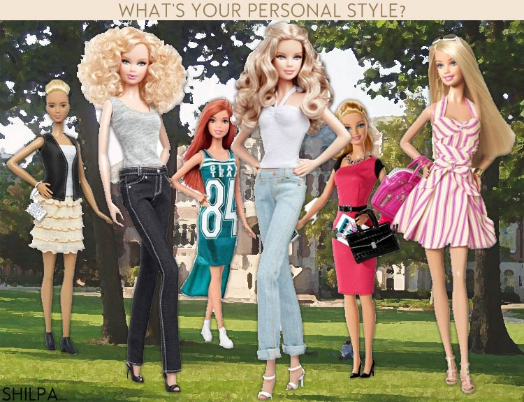 how-to-be-stylish-whats-your-personal-style-how-to-be-fashionable-barbie-types