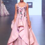 indian-engagement-party-dress-shriya-som-pink-gown-indowestern-outfit-2016-designer-beautiful