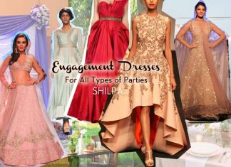 indian-engagement-party-dresses-lehenga--gowns--outfit-what-to-wear-2016-designer-ideas