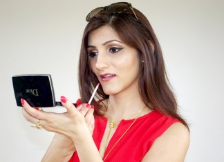 indian-fashion-blogger-shilpa-ahuja-makeup-beauty-how-to-wear-red-lipstick-summer-look
