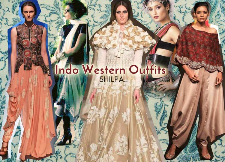 158cb8672de latest Indo Western Outfits for-women-party-wedding-indowestern