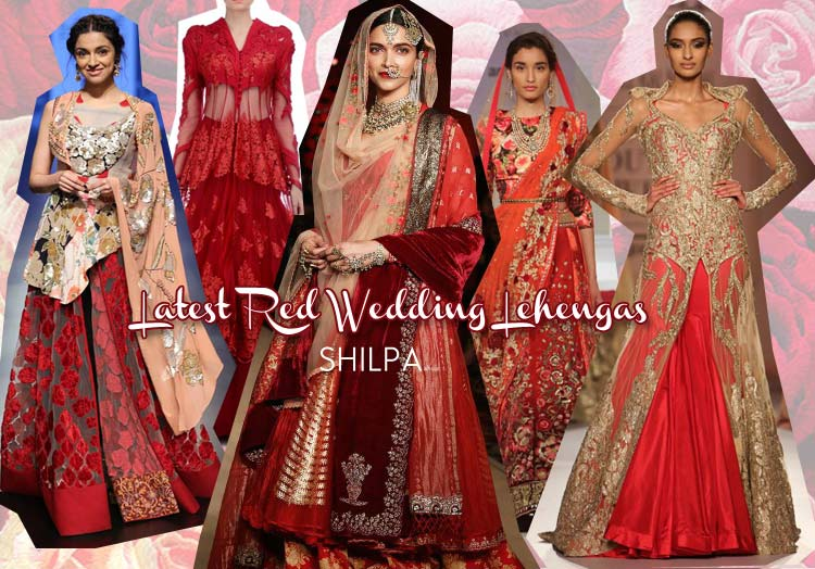 31a381bef6c5 Red Bridal Lehenga Designs You ll Love This Season