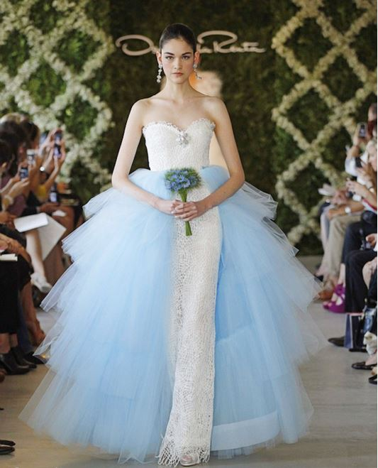 oscar-de-la-renta-bridal-barbie-white-blue-dress-design-beautiful-designer-gown-runway
