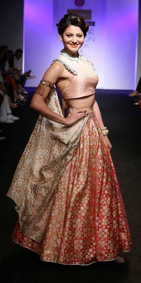red-bridal-lehenga-designs-silk-crop-top-choli-lightweight-lehengas-designer-2016-latest-i-am-design-