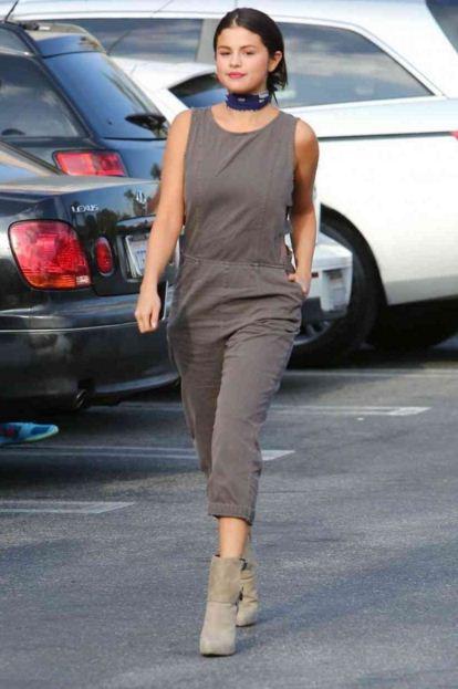 selena-gomez-best-summer-street-style-jumpsuit-booties