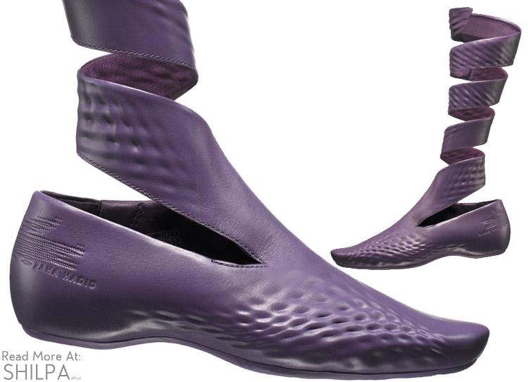 zaha-hadid-lacoste-boot-shoe-purple-architectural-3d-fashion-designer-architect