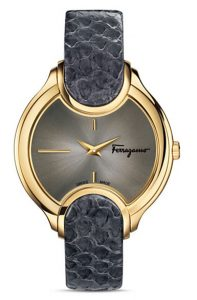 Latest-luxury-womens-ladies-watches-salvatore-ferragamo-grey-gold-navy-strap