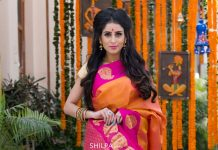 bharatsthali-yellow-red-comnination-beautiful-saree-silk