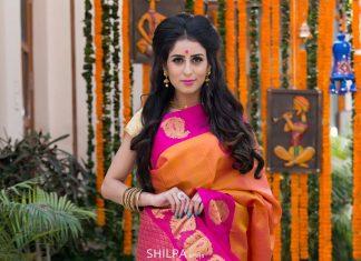 bharatsthali-yellow-red-comnination-beautiful-saree-silk