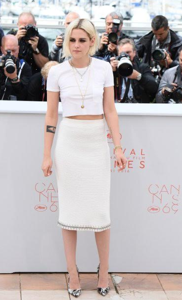 cannes-film-festival-2016-celeb-dress-chanel-ambassador-coco-crush-ring-premiere-watch-white-cotton-tshirt-with-tweet-skirt-summer-spring-2016-couture