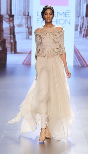 latest-indian-suit-trends-designs-anushree-reddy-2016-cream-sheer-off-shoulder