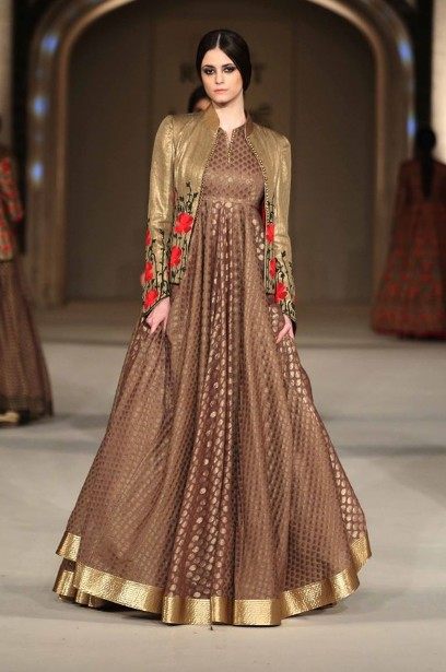 latest-indian-suit-trends-designs-rohit-bal-2016-brown-embroidery-floor-touched-anarkali