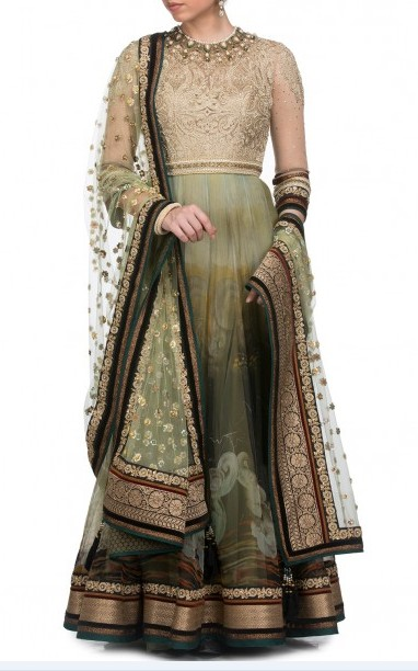 latest-indian-suit-trends-designs-tarun-tahiliani-2016-green-floor-length-suit
