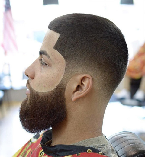latest-mens-hairstyle-trends-2016-men-style-haircut-buzzcut-sharp-corners-fade-beard