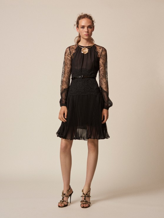 oscar-de-la-renta-resort-2016-fashion-collection-dress-outfit (32)-black-lace