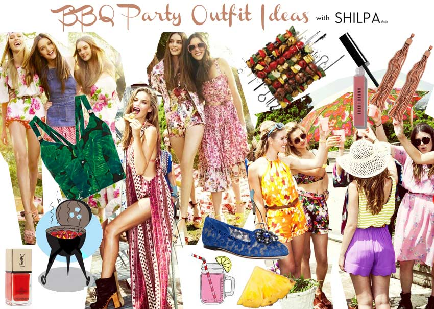 what-to-wear-to-barbecue-party-summer barbecue party outfit ideas designer-wear