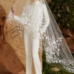 Best-trends-bridal-gowns-designer-carolina-herrera-pant-style-embroidery-2016