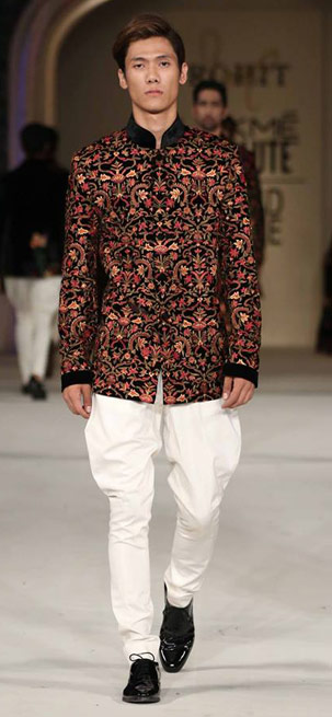 Latest-indian-outfit-for-men-designer-rohit-bal-ethinic-wear-2016