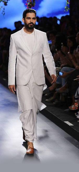 Latest-mens-outfit-for-engagement-ethinic-wear-designer-anita-dongre-white-shervani-2016