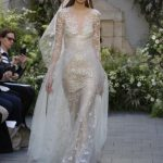 Latest-trends-bridal-gowns--sleeves-tulle-designer-Monique lhuillier