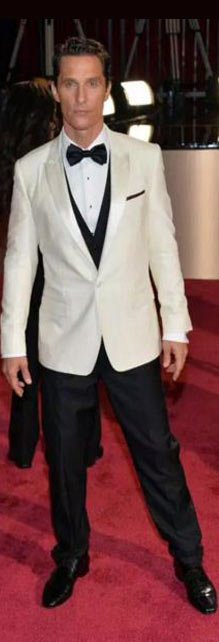 Top-White-tuxedo-tux-matthew-mcconaughey-hollywood-red-carpet-mens-style-wear