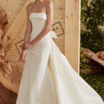 Top-trends-bridal-gowns-strapless-designer-Carolina herrera-2016