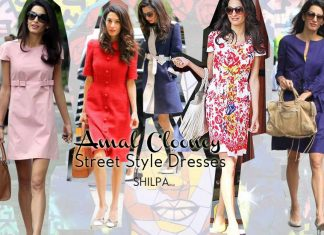 amal-clooney-best-street-style-dresses-fashion-celebrity-elegant-casual
