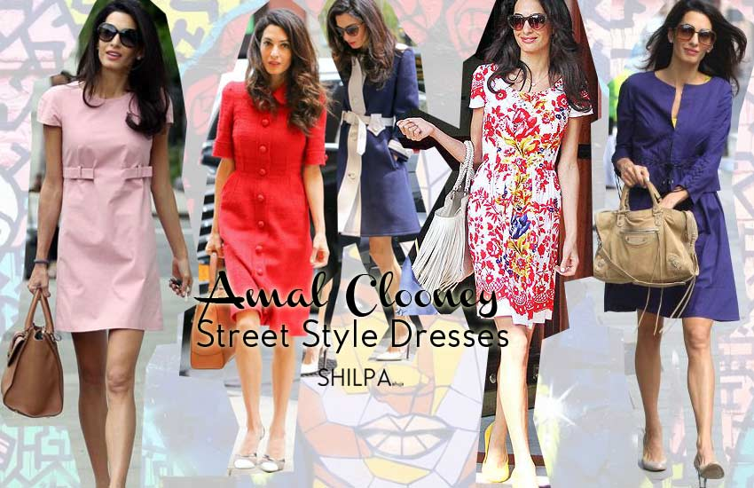 Amal Clooney Shoes How To Wear Casual Dresses Like A Boss