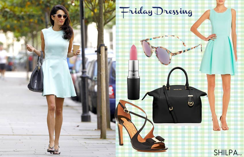 amal-clooney-how-to-wear-mint-pastel-green-summer-work-office-pairings