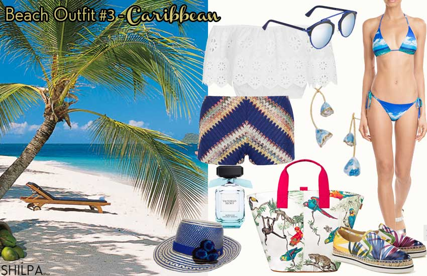 best-beach-outfit--party-casual-caribbean-theme-summer-2016-crop-top-idea