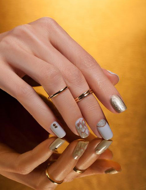 Top Indian Wedding Nail Designs & Latest Bridal Nails