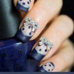 bridal-nail-art-2016-blue-bow-opi-wedding-nail-ideas-latest-wedding-collection