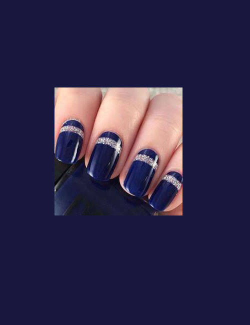 bridal-nails-2016-wedding-bride-nails-designscollection-navy-blue