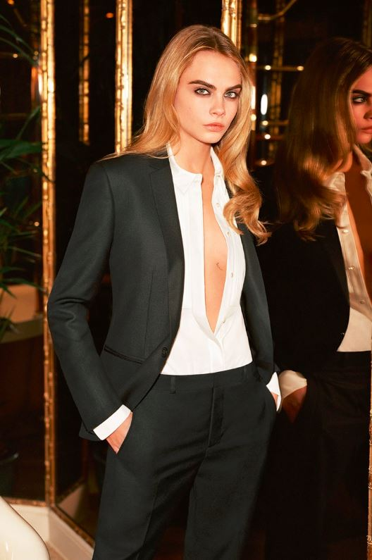 cara-delevingne-tuxedo-formal-look-outfit-party-look-classic