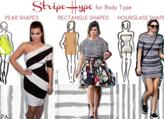how-to-wear-stripes-for-different-body-types-shapes-kardashian-jenner