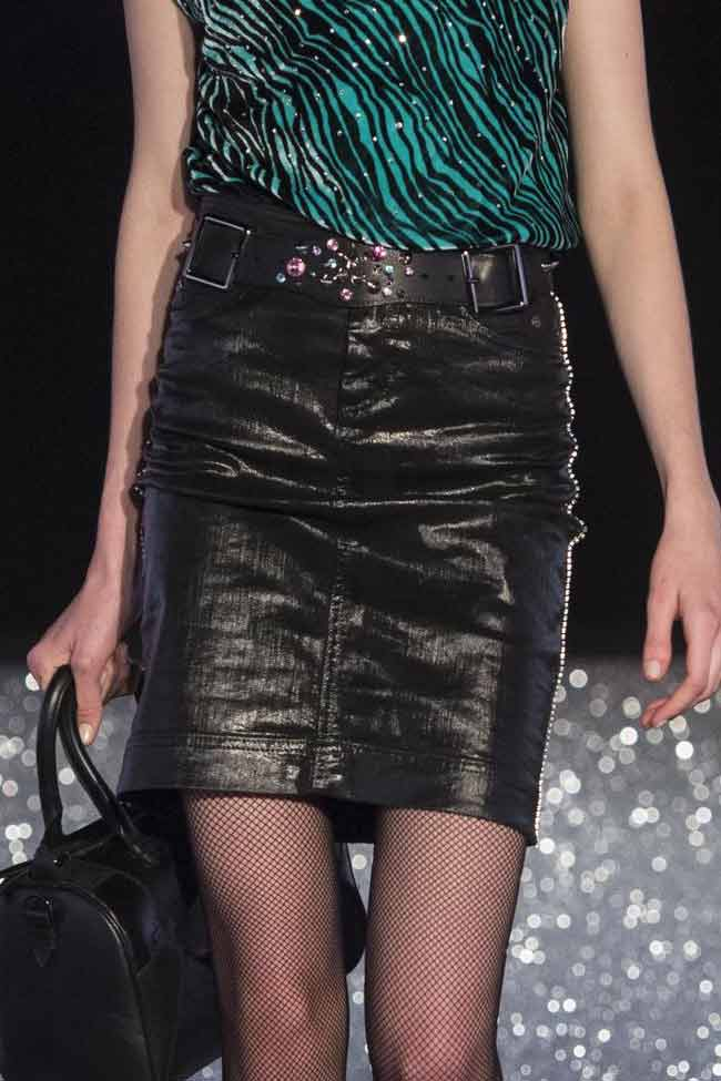 just-cavalli-black-leather-skirt-mini-fw16-fall-winter-2016-latest-fashion-trends