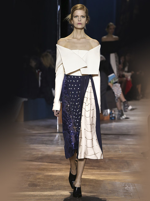 latest-dior-fw16-fall-winter-2016-off-shoulder-top-with-midi-skirt-formal