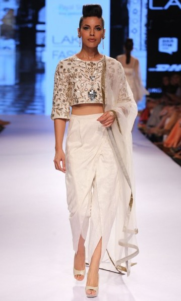 latest-indian-suit-trends-designs-payal-singhal-crop-top-tight-pant-dupatta-2016