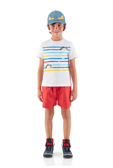 latest-kids-wear-boys-shorts-tee-2016-designer-collection-fendi-
