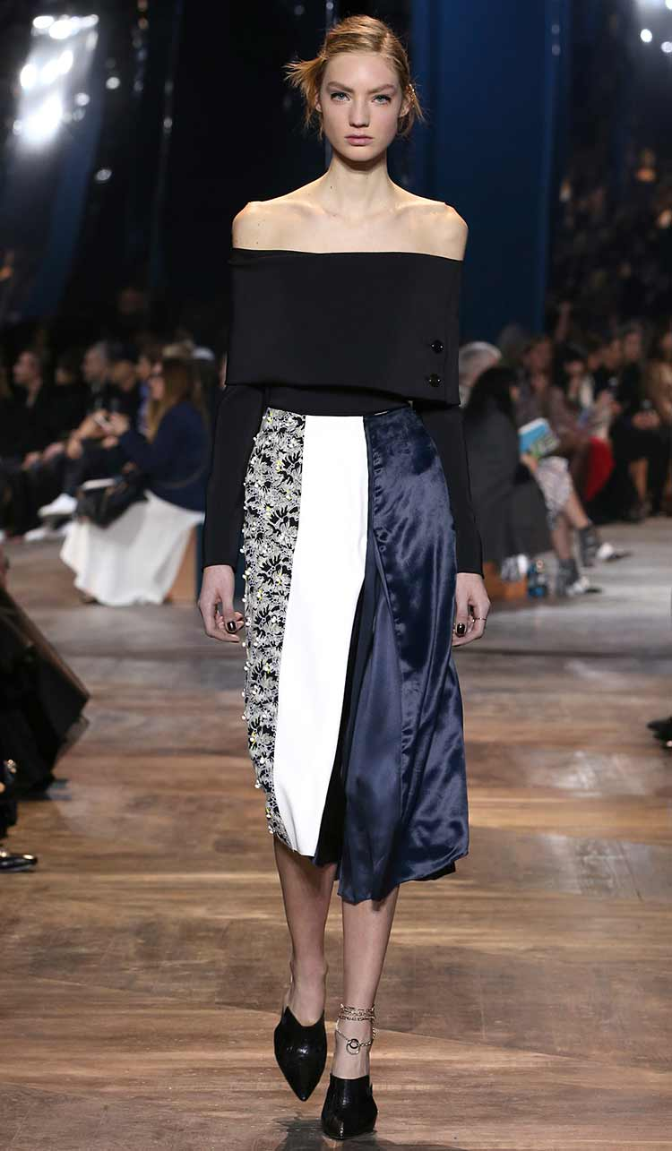 latest-off-shoulder-top-with-skirt-dior-ss16-spring-summer-2016-couture