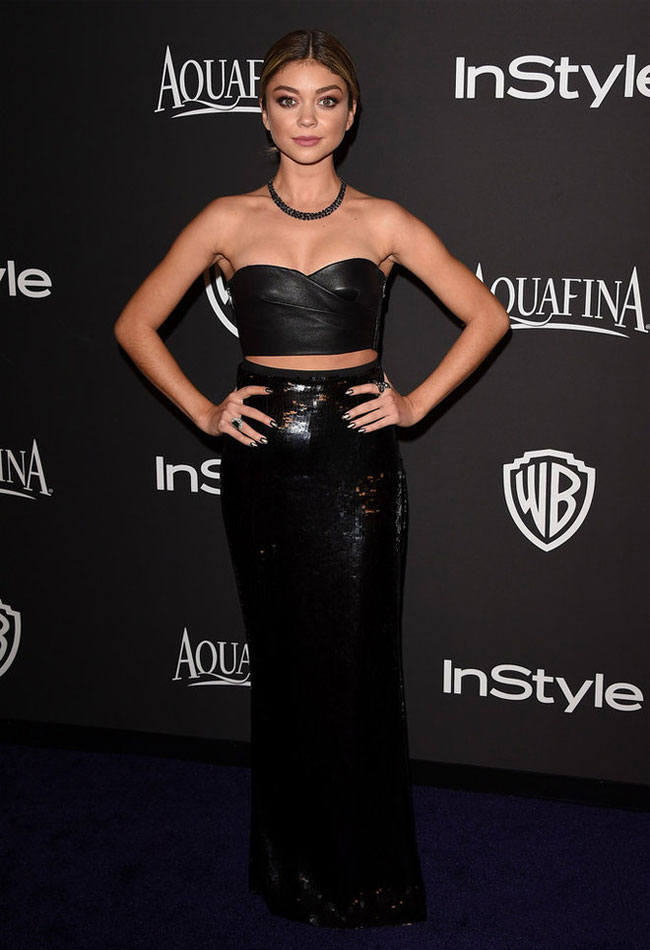 maxi-skirt-long-advice-how-to-wear-sarah-hyland-celebrity-black-party-look