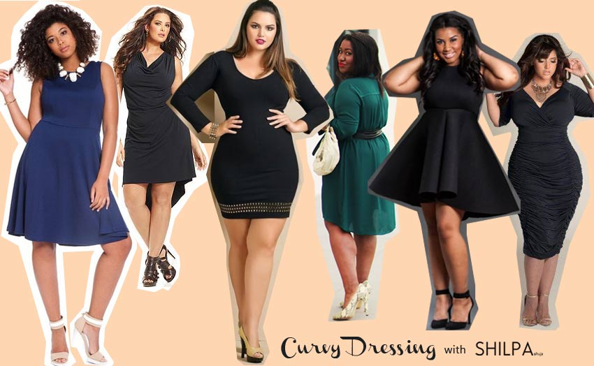 Party Dress Plus Size Curvy Body Type Best